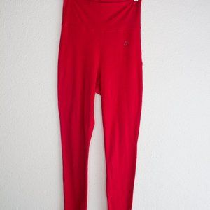 Nike Red High Waisted Leggings